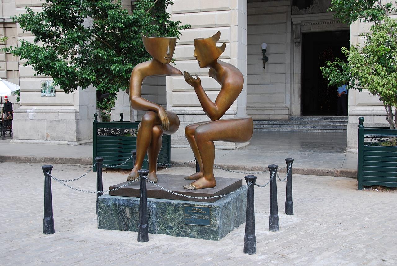 sculpture conversation etienne pirot